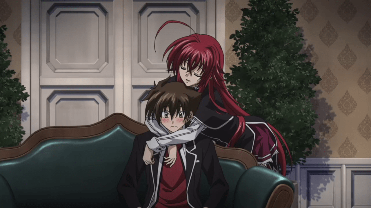 Action ecchi anime like monster reviewers, High School DxD