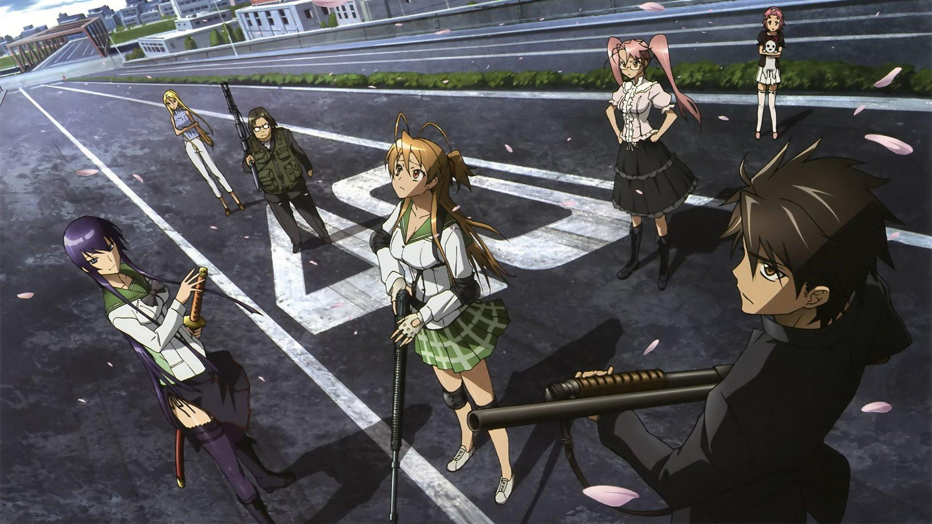 High-Rise Invasion similar anime High School of the Dead