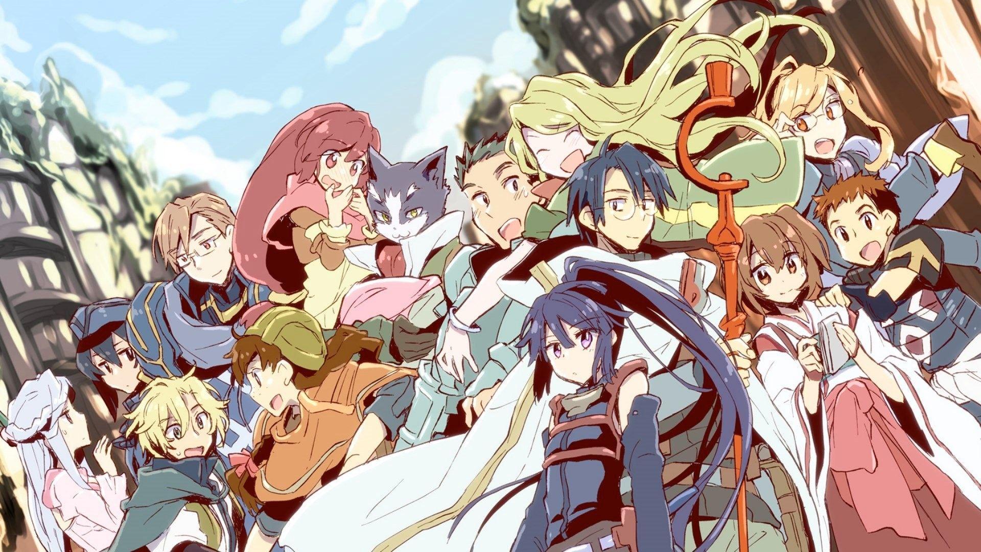 Isekai anime like how a realist hero rebuilt the kingdom, Log Horizon