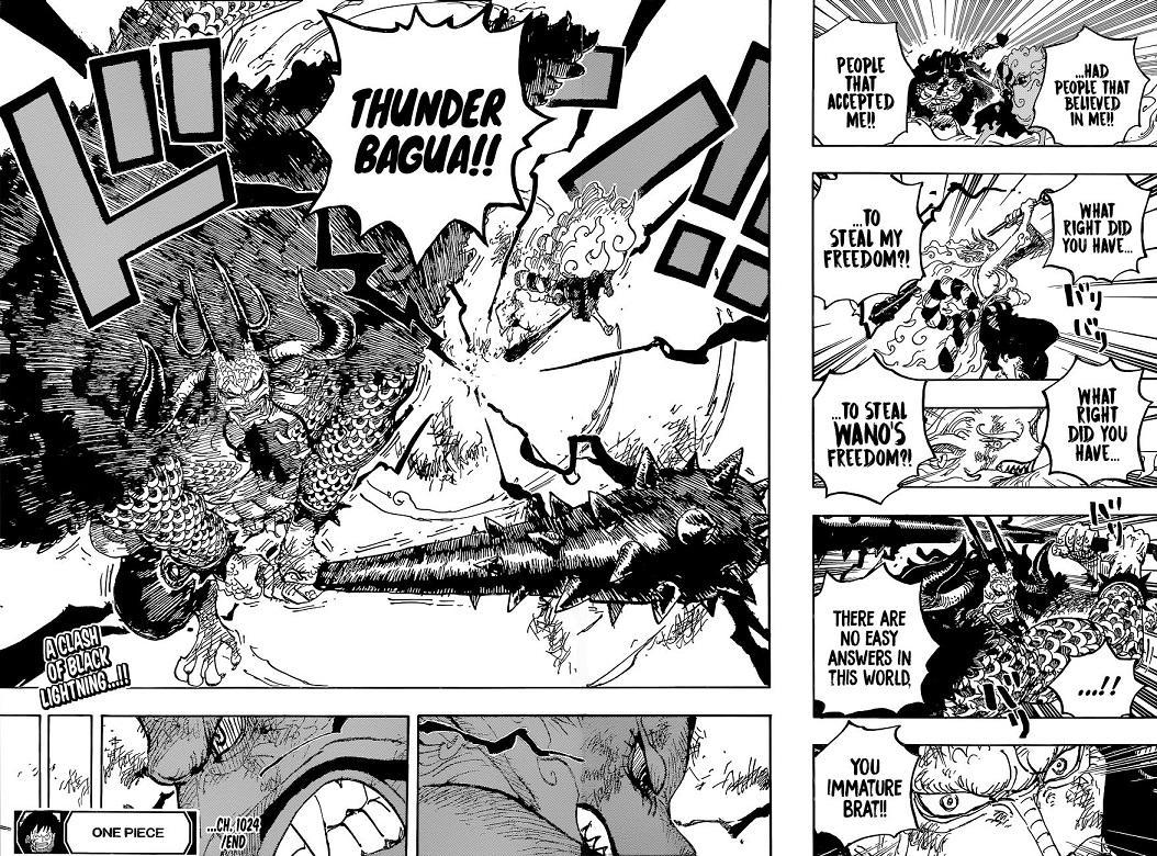Kaidou and Yamato One Piece Chapter 1024