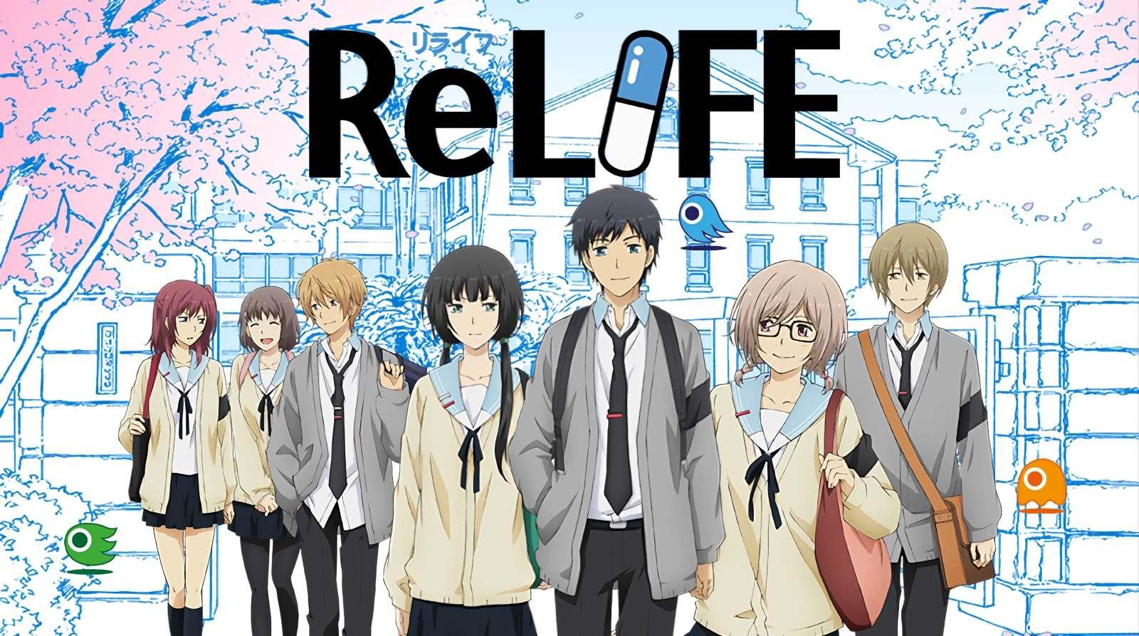 Interesting high school anime about redoing life, like Higehiro, ReLIFE