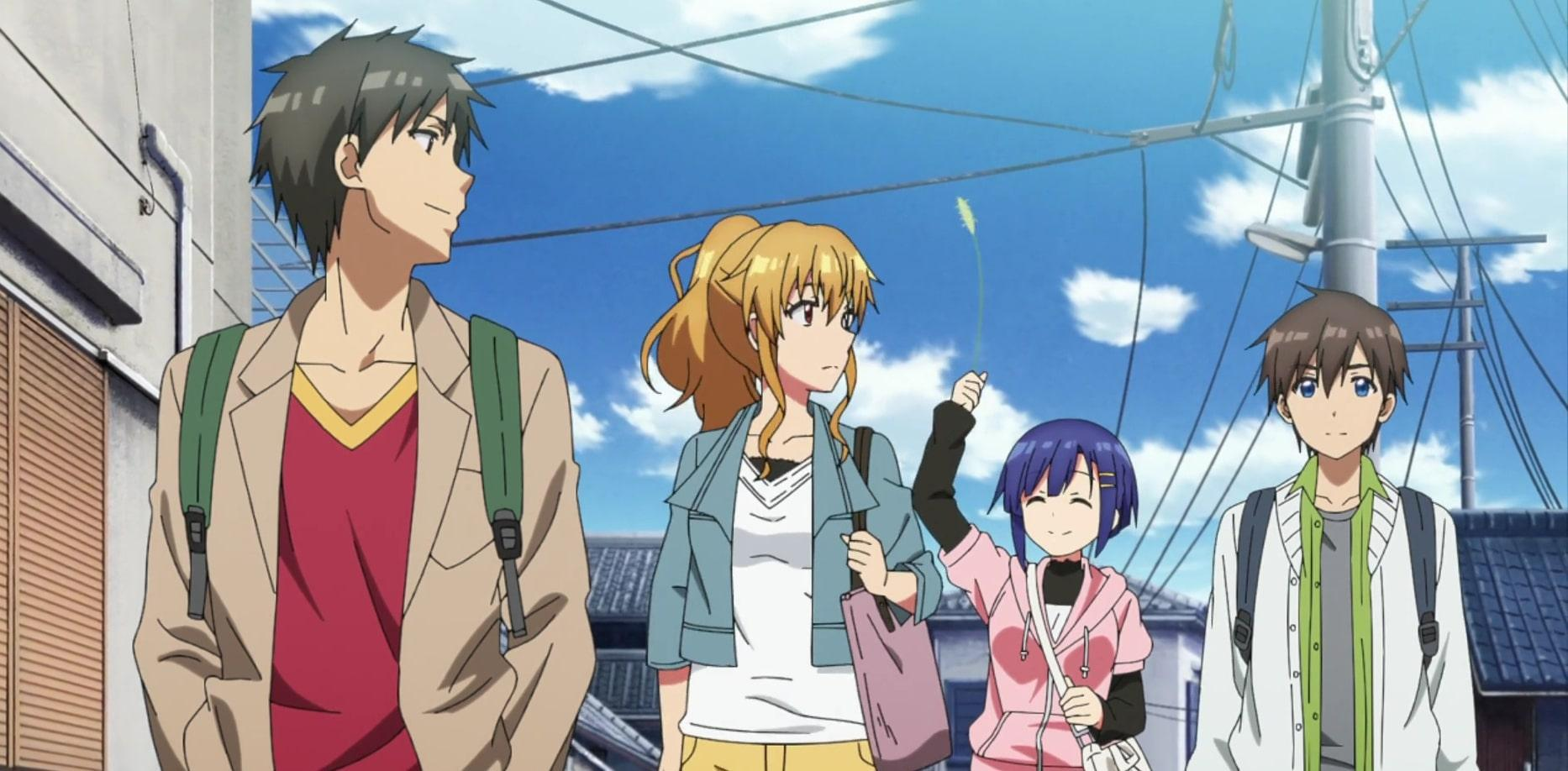 Kyouya With His Friends