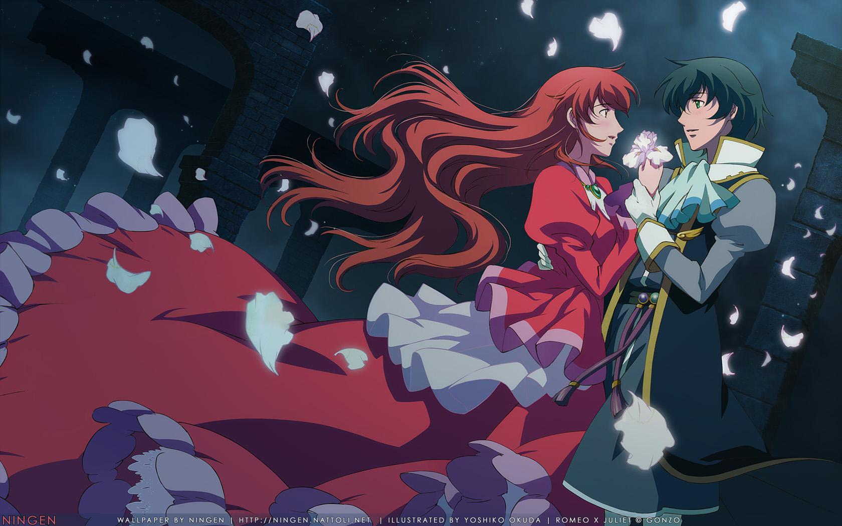 Romantic anime like mahoutsukai no yome Romeo x Juliet