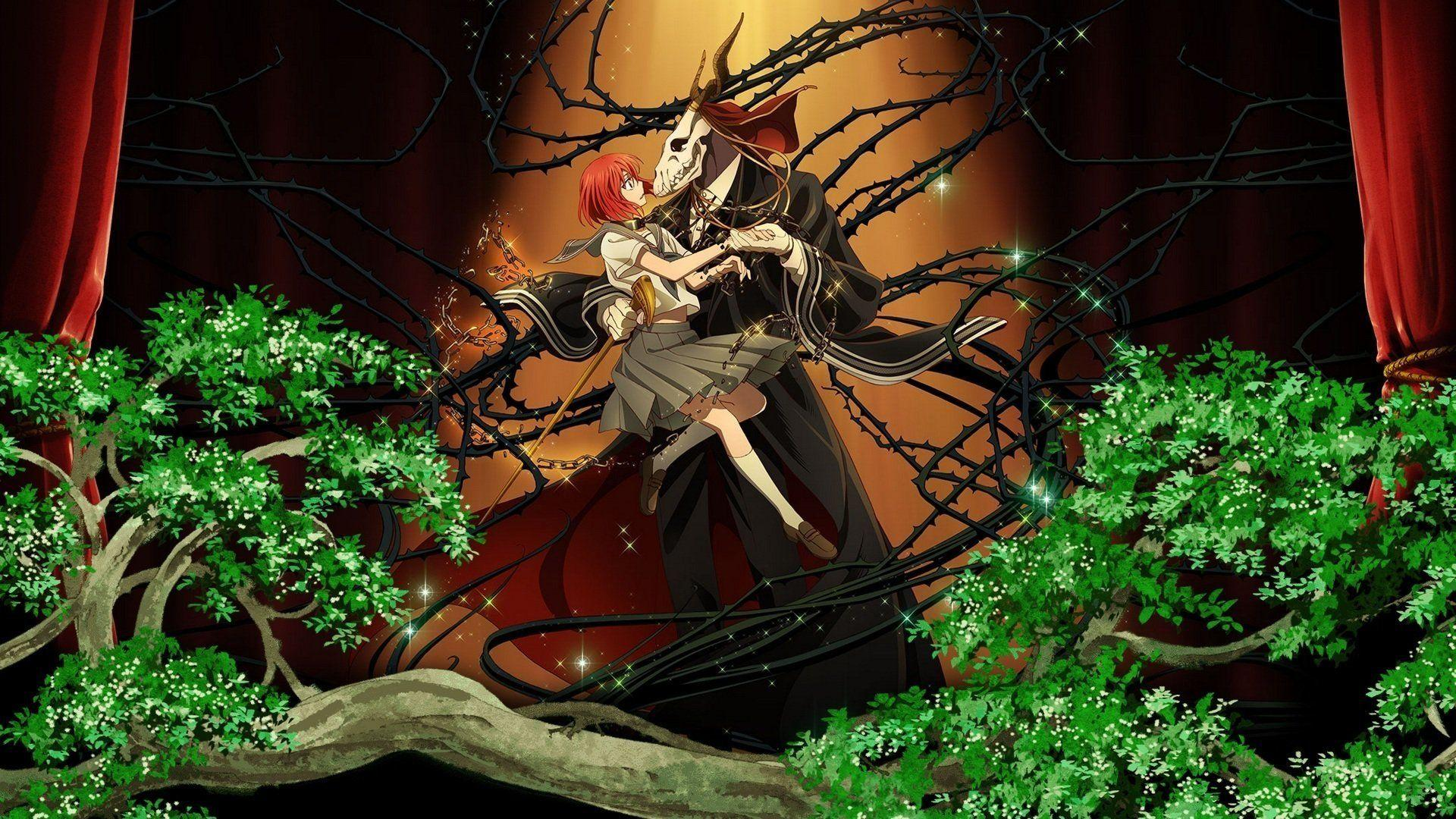 Masked man anime like Earl and Fairy, The Ancient Magus' Bride