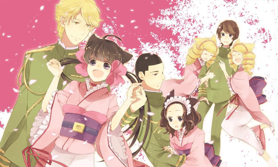 hakushaku to yousei similar anime Zakuro