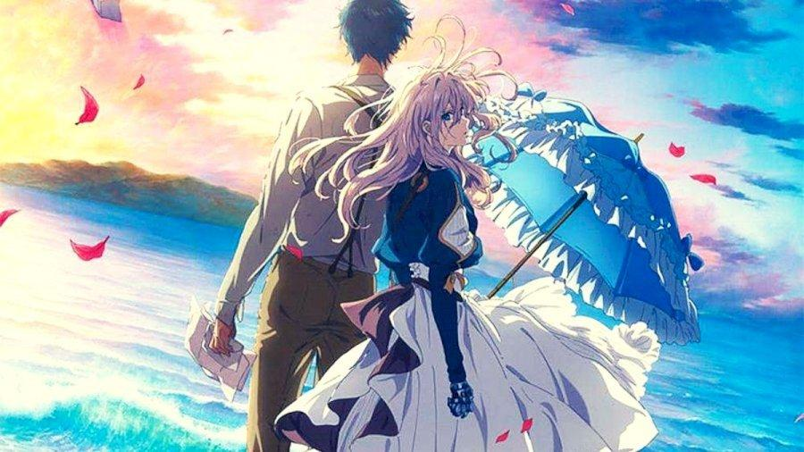 Violet Evergarden Kana Akatsuki and Reiko Yoshida