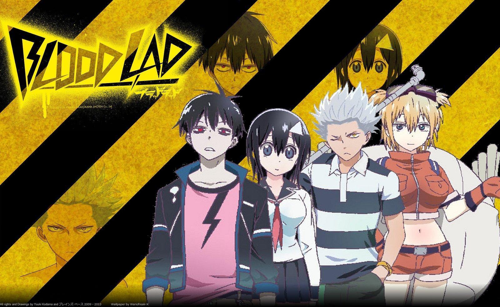 comedy and fantasy anime like jahy sama anime, Blood Lad