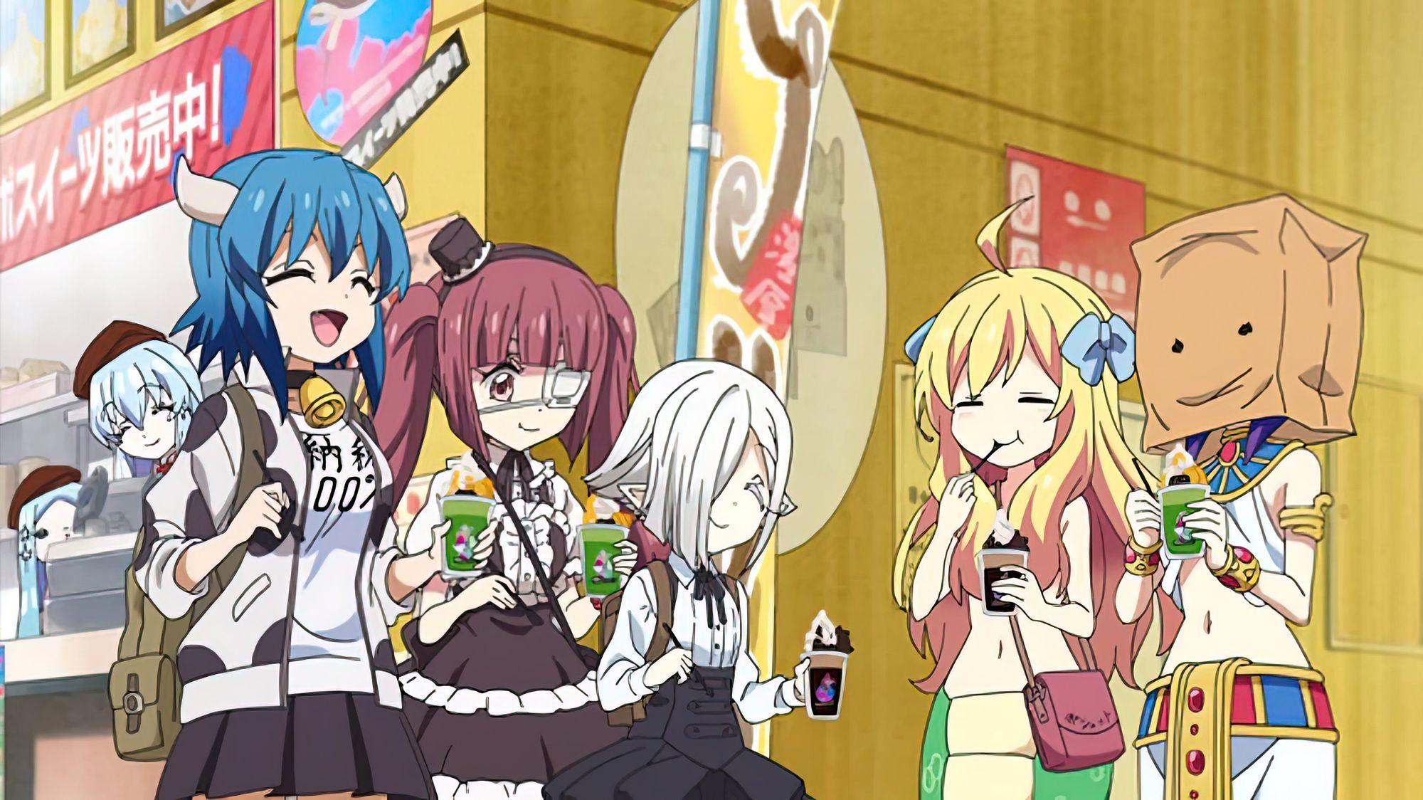 anime like jahy-sama anime, Jashin-chan Dropkick