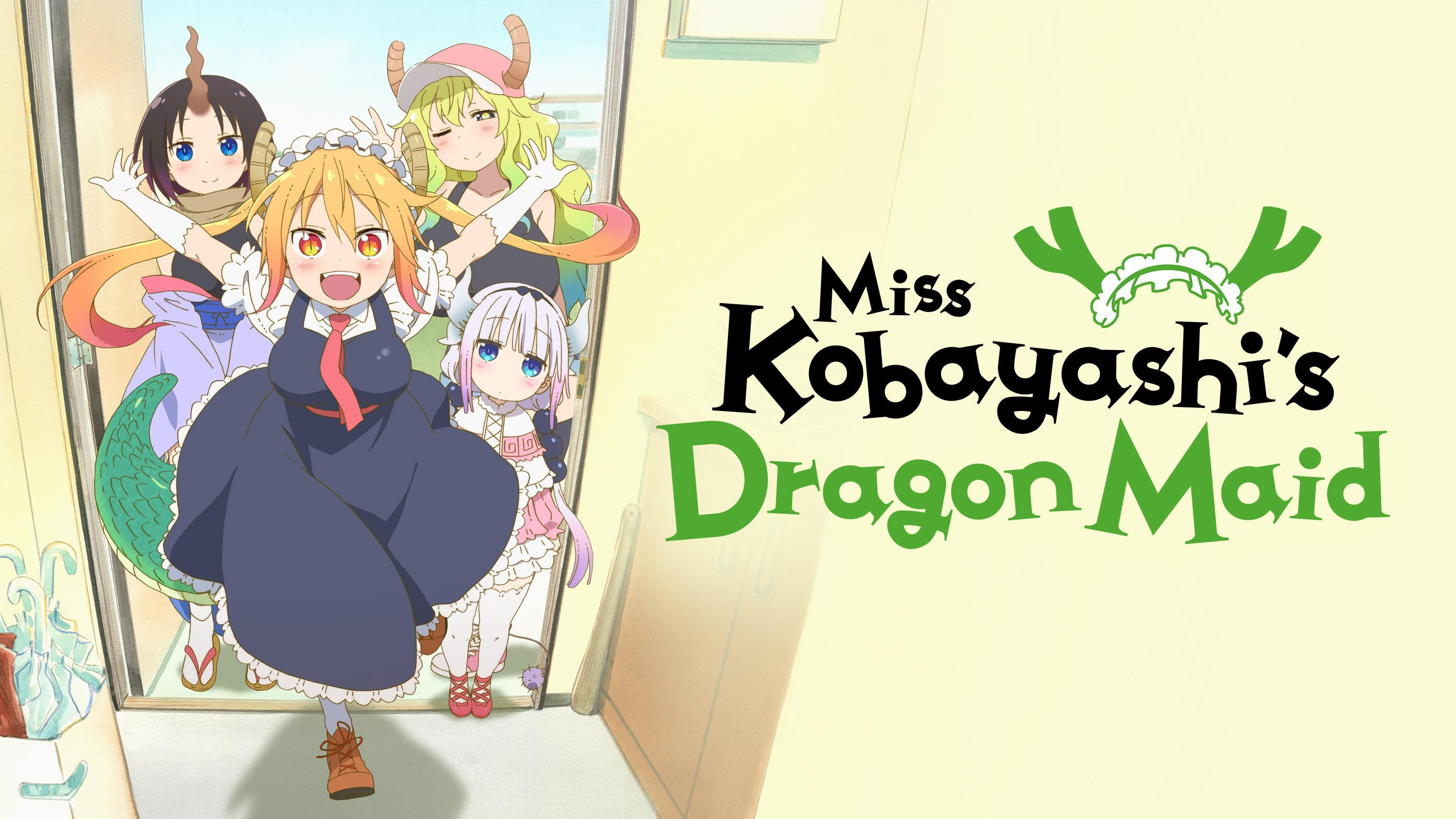 Comedy anime like The Great Jahy Will Not Be Defeated!, Miss Kobayashi's Dragon Maid
