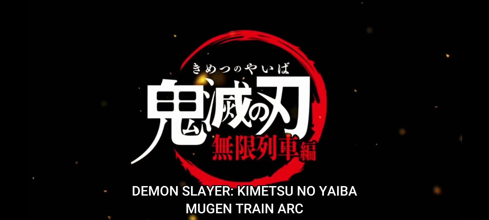 Demon Slayer Mugen Train Arc Visual