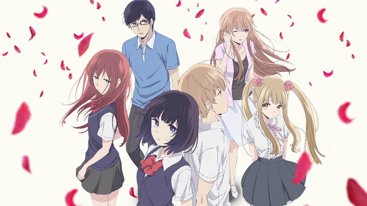 Drama and romance anime like Koikimo, Scum's Wish
