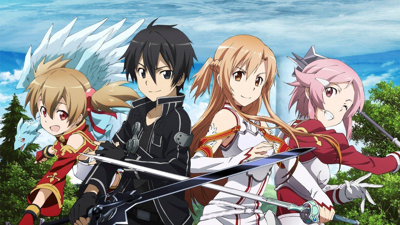 Famous Isekai anime with overpowered main character like Bofuri, Sword Art Online