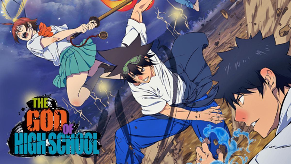 supernatural martial arts anime like Jujutsu Kaisen, The God of High School