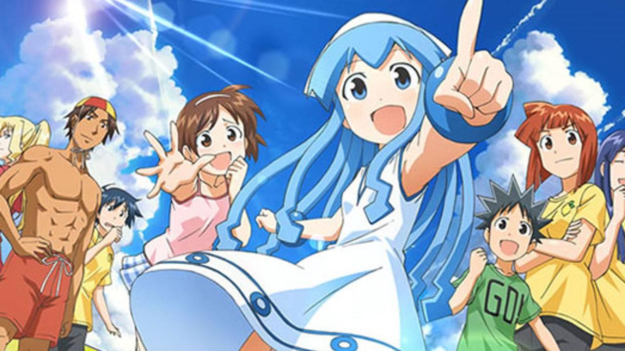 funny anime like Jahy-sama wa Kujikenai!, The Squid Girl