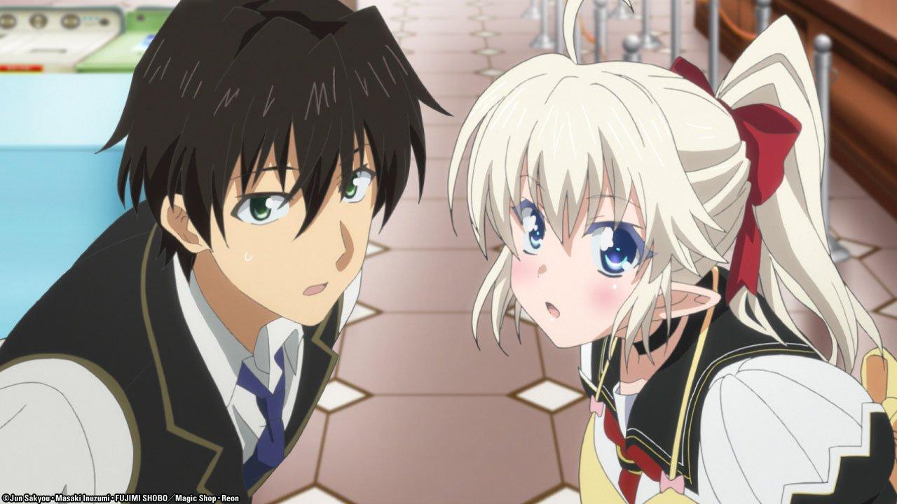 Best anime like Jahy-sama wa Kujikenai!, Yusibu: I couldn't become a hero, so I reluctantly decided to get a job