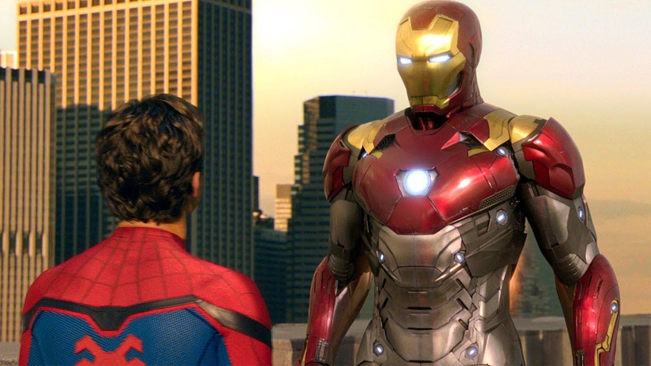Iron-Man And Spider-Man