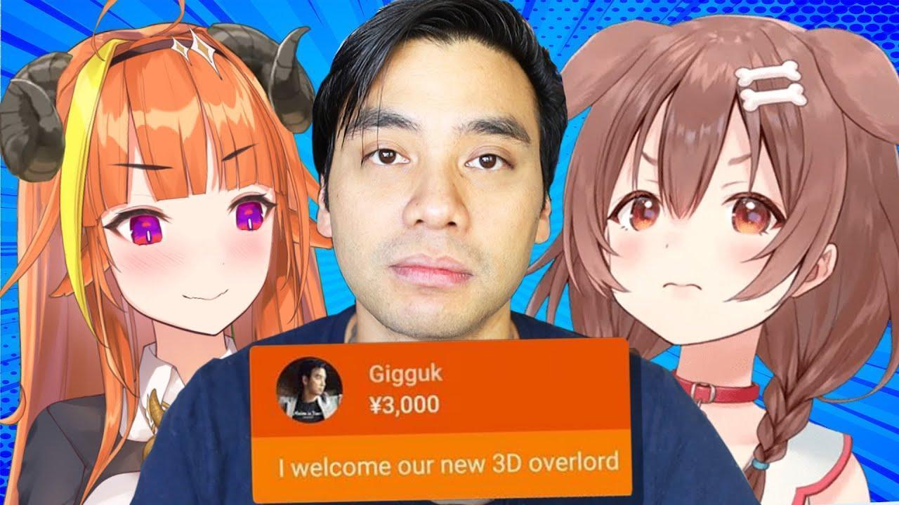 Anime YouTuber Gigguk